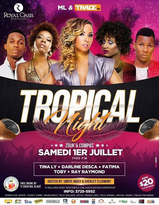 TROPICAL NIGHT ZOUK AND COMPAS